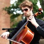 Lucas Shogren on Cello